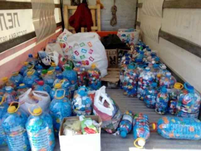 Повече от 200 килограма капачки предадоха за рециклиране жените от ГЕРБ- Перник