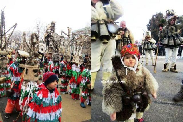 В Брезник и Радомир стягат сурвакарски празници