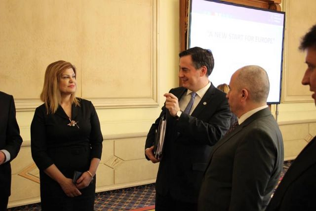Соколова на  форум посветен на Европа.
