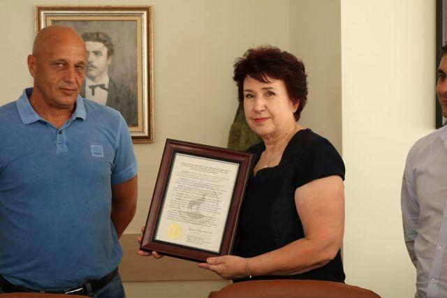 Церовска получи официална прокламация от името на кмета на предградието на Чикаго – Елк Гроув