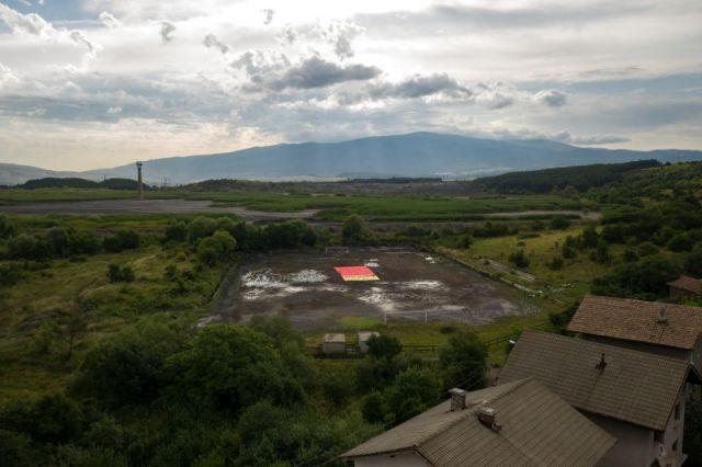 Червен картон на въглищната индустрия в Перник показаха екоактивисти