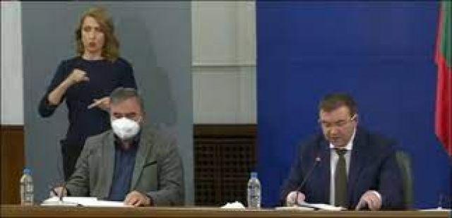 Ангелов: Когато заболеваемостта достигне 200 на 100 000 души, ще вземем и обявим необходимите мерки