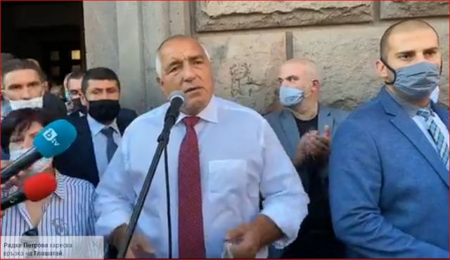 Борисов към протестиращите: Викайте единство