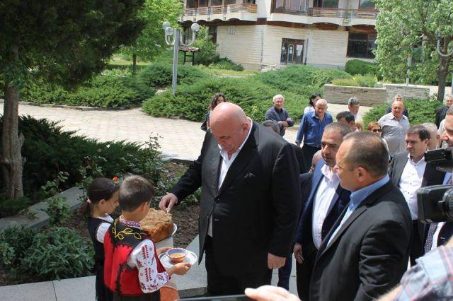 Сръбска делегация беше в Ковачевци