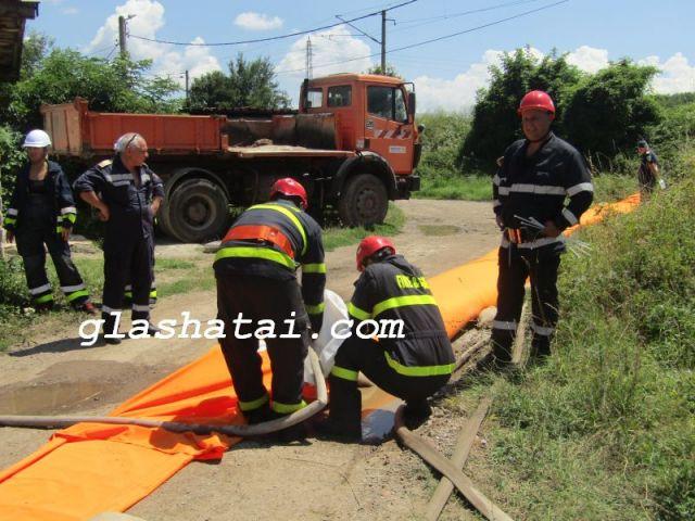 Дъждът отвори работа на пожарникарите в пернишко и брезнишко