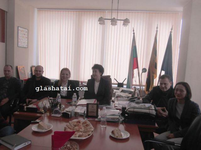 Кметът се срещна предколедно с журналисти