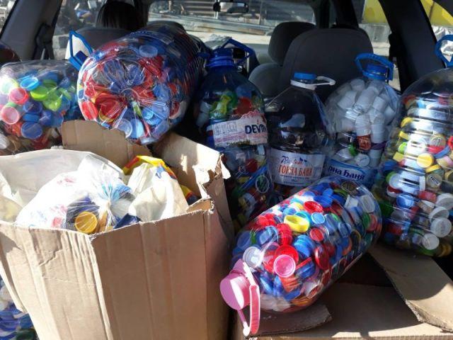 Още 227 кг пластмасови капачки предаде за рециклиране женската организация на ПП ГЕРБ-Перник