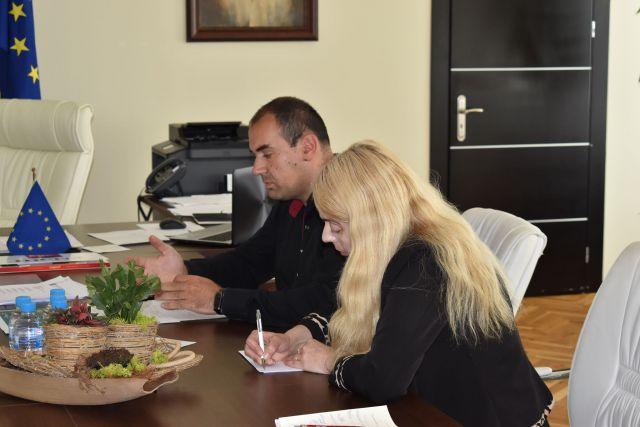 Водата на Радомир- тема на среща в Областта