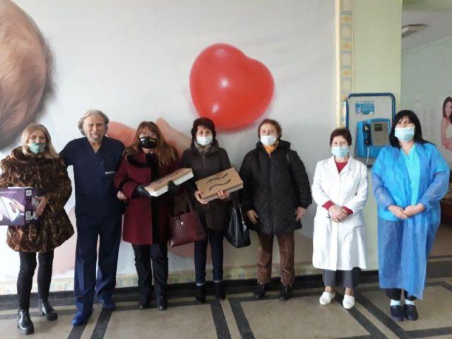 За 12-та поредна година женската структура на ГЕРБ - Перник направи дарение на пернишката болница