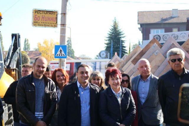 Вяра Церовска: един голям инфраструктурен проект в Перник започва своята реализация