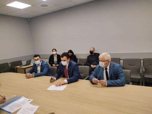 Коалиция ГЕРБ-СДС - Перник  регистрира листата си за участие в парламентарните избори