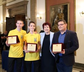 Людмил Велинов и учениците му  получиха специално признание за 24 май