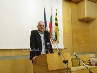 Новият председател на Общинския съвет е Димитър Колев