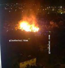 Изгоря кола в радомирско село