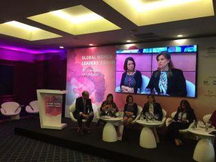 Ирена Соколова бе отличена с почетен знак от Глобалния форум на жените лидери