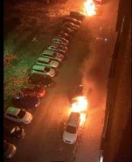 Собственикът на запалените коли проговори пред телевизията