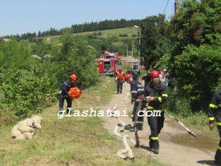 Пожари лумнаха и в Пернишко и Брезнишко
