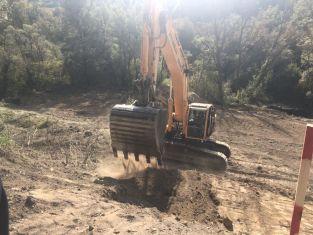 """Започна ремонтът на  моста в местността """"Секирица"""