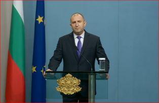 Радев каза не на идеите на Борисов