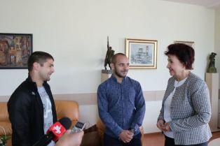 Церовска се срещна със световния шампион Радослав Василев