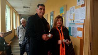 И Соколова гласува