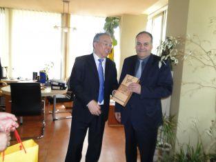 Делегация от побратимения китайски град Хуайан се срещна с кмета на Перник