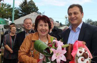 Церовска и Караилиев празнуват
