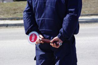 Радомирец си спретна гонка с полицаите