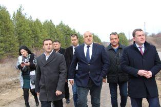 Борисов инспектира тръбата. Ето какво каза за сваленото доверие от Радев