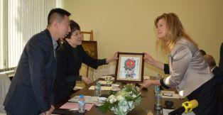 Соколова обсъжда бъдещо партньорство с делегация от Китай