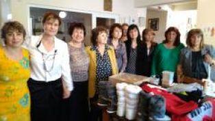Жените от ГЕРБ  дариха учебни помагала и дрехи на деца от Център за настаняване от семеен тип и разпространиха поздравителен адрес за новата учебна година
