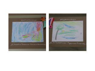 Рисунките на Михаела от Батановци и Радослав от Ярджиловци красят парламента