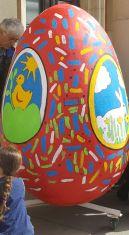 Децата на Перник рисуваха яйца в центъра на града и в