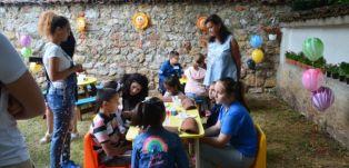 Ето как се забавляваха децата на Радомир в края на миналата седмица