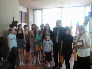 "Кметът на Перник награди поетите на ""Пегас"""