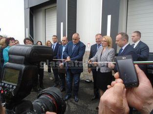 Премиерът Бойко Борисов откри предприятие край Радомир