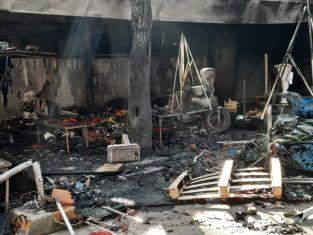 Ето подробности за снощния пожар и версиите за запалването му