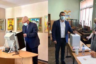 Ананиев и  Костадинов гласуваха