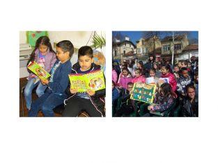 Децата на Радомир и Трън се включиха в маратона на четенето