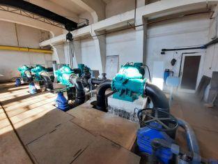 Продължава работата по възстановяването на старата пречиствателна станция за питейни води