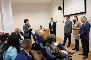 Церовска на работна визита в Брюксел по покана на Уручев