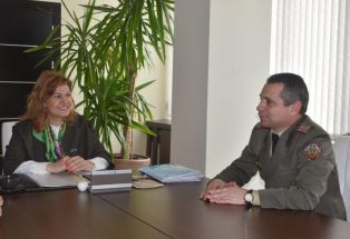Военното окръжие в Перник с нов началник