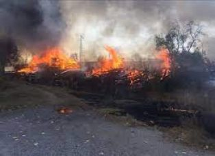 Пожар в Брезнишко