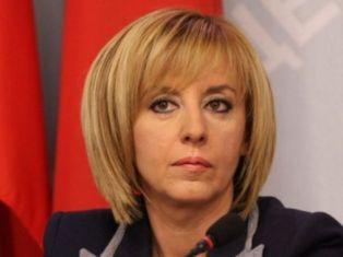 Мая Манолова е катастрофирала