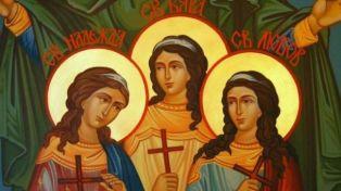 Днес почитаме паметта на Светите мъченици София, Вяра, Надежда и Любов