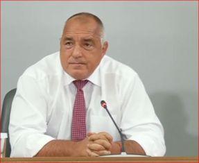 Борисов определи снощния протест като част от сценарии