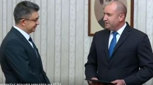 Президентът връчи първия мандат за съставяне на правителство