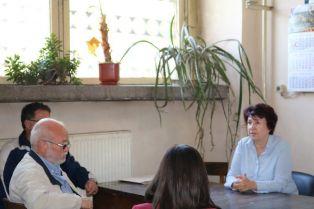 Вяра Церовска представи своята програма пред работещите в две големи фирми