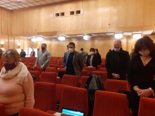 Минута мълчание за кмета Чолев