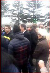 Екшън на пътя Перник-София при Драгичево. Хората недоволстват